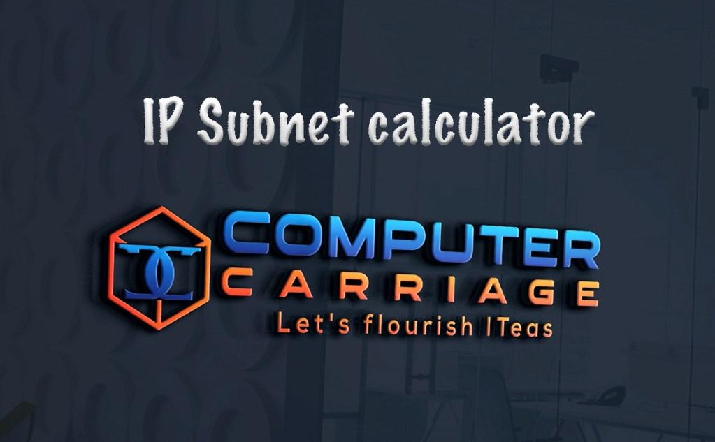 ip calculator subnet