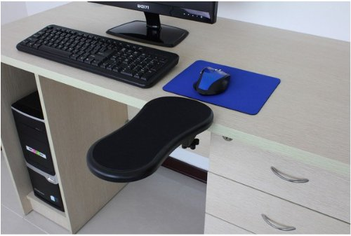 ergonomic chair knee rest queen anne recliner adjustable computer desk extender arm wrist | comfort