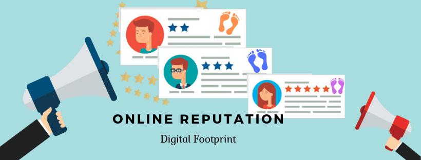 Online reputation and digital footprint