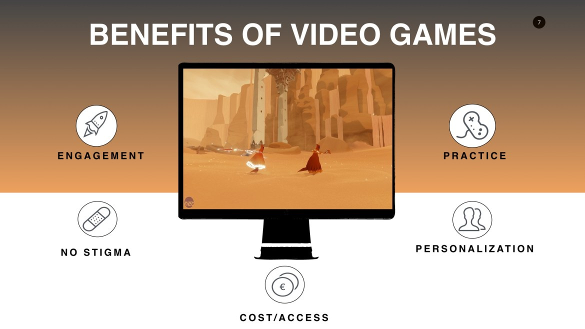 Hidden benefits that video games provide