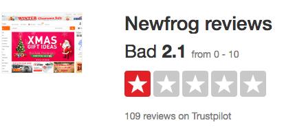 Newfrog.com criminals and liars