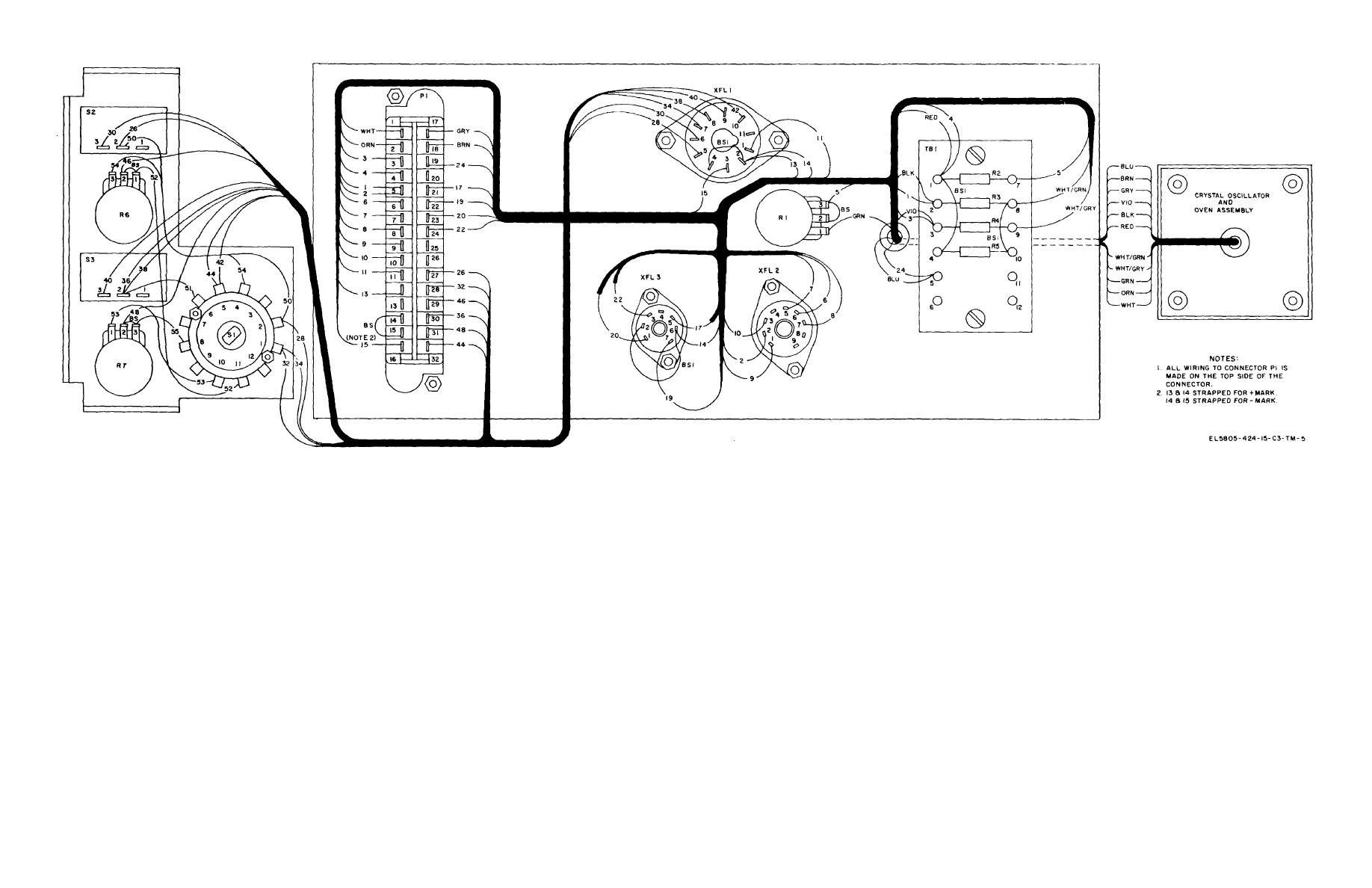 Figure 6 45 Plug In Module Subassembly Mx G Wiring Diagram