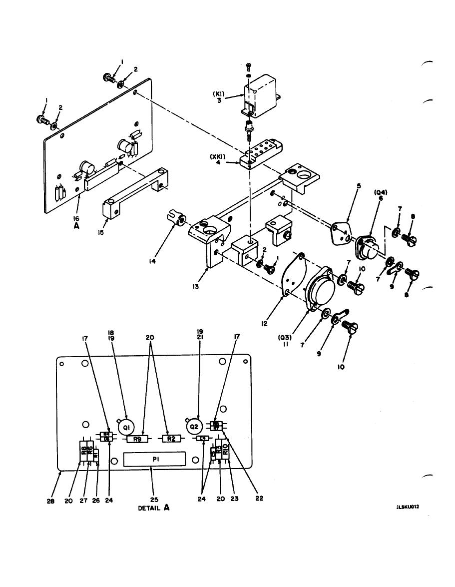 Figure 12. Monitor Power Amplifier Circuit Card Assembly, A11