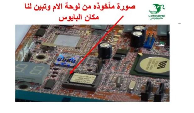 البايوس في الكمبيوتر - كمبيوترجي