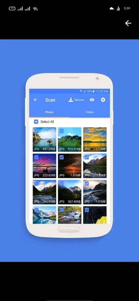 كيفية استرجاع الصور من جوجل