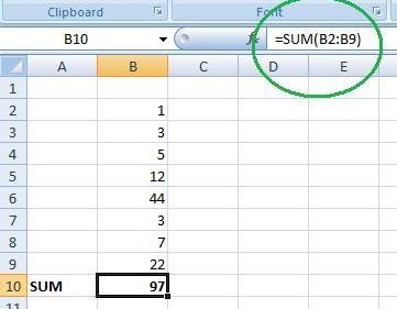 using-sum-function-in-excel