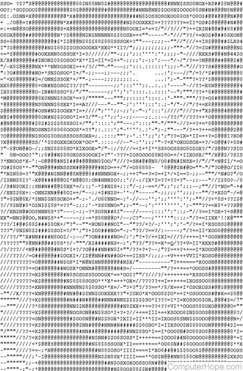 Word Text Art : ASCII