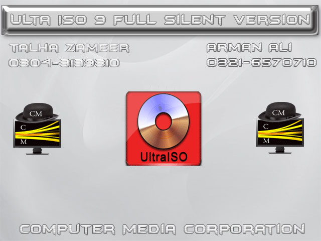 Ultra ISO 9.6 Fully Silent By Computer Media Corporation – Computer ...