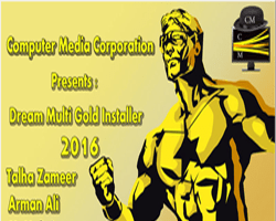 Dream Multi Gold Installer 2016 By C.M Team