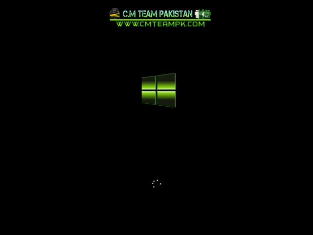 Windows 8 Green Edition 2017 Ghost Bootscreen