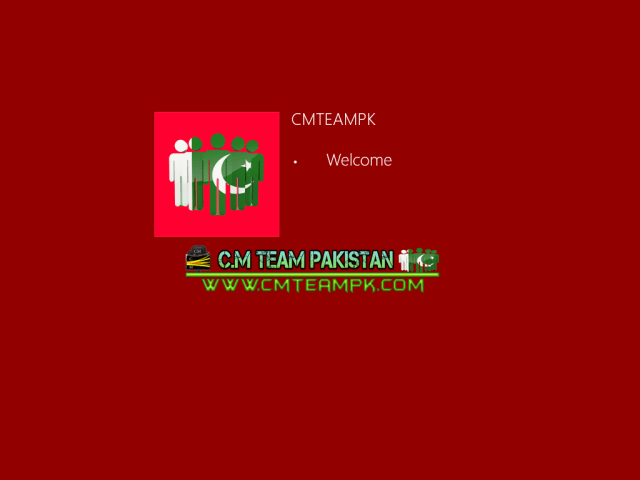 Windows 8 Red Edition Lite 2017 Welcome Screen By CMTEAMPK
