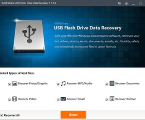 IUWEshare USB Flash Drive Data Recovery 1.8.8.8 By Computer Media