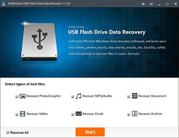 IUWEshare USB Flash Drive Data Recovery 1.8.8.8