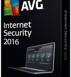 AVG Internet Security 2016 16.121.7858 + License Keys (x86)