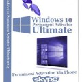 Windows 10 Permanent Activator Ultimate v1.8.1