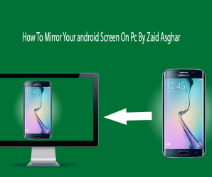 How to MirrorRecord Your Android Screen To PC Screen NO ROOT Best Way By Zaid Asghar