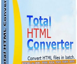 Total HTML Converter 5.1.0.66 With Crack !