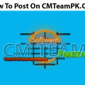 How To Post On CMTeamPK 2017 By Zaid Asghar