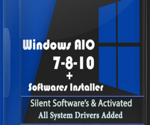Windows AIO 7-8-10 (28In1) x86/x64 +Software Installer !