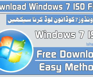 How To Download Windows 7 ISO Free [Video Tutorial ] !