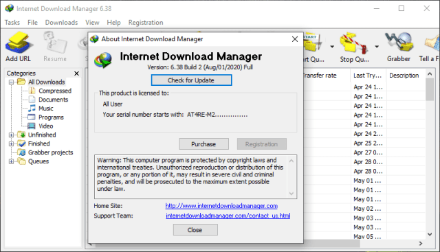 Internet Download Manager (IDM) 6.38 Build 2+Crack 2020 Full
