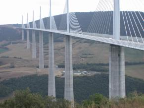 Millau bridge France