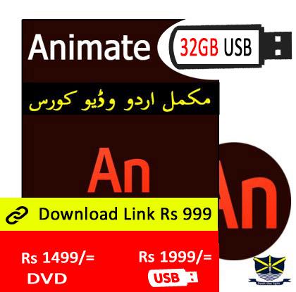 animate video course in Urdu