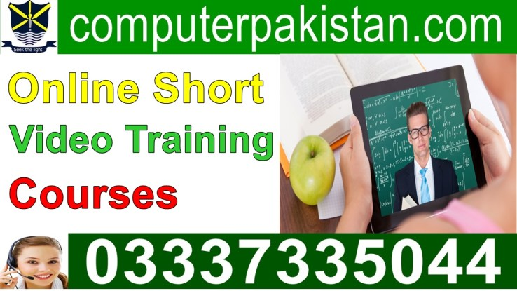 online short courses in pakistan in urdu
