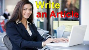 how to write an article for Website in Pakistan