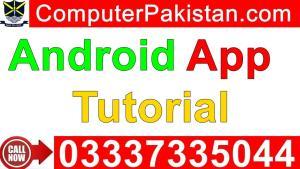 Android App Development Tutorial for Beginner