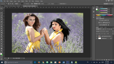 Move Rectangle Marquee Tools in Photoshop - Photo Editor 1