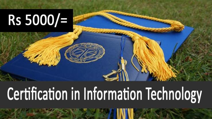 Certification in Information Technology in Pakistan