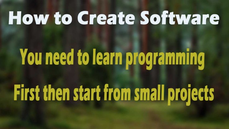 How to Create Software with Computer Programming