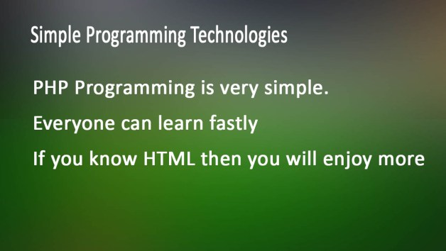 simple programming technology for students