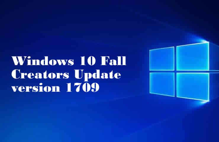 windows 10 fall creators update version 1709