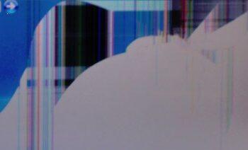 Broken screen example 2