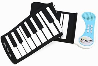 Eoncore 37 Keys Roll Up Portable Electronic Keyboard