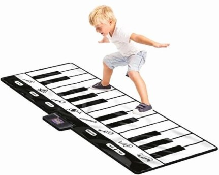 Play Gigantic Keyboard Play Mat