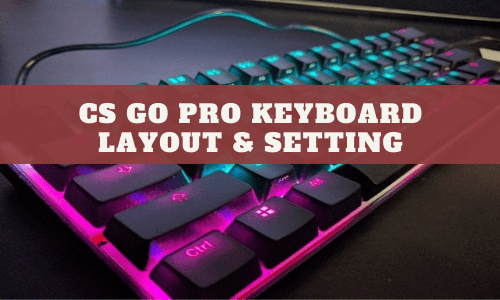CS GO Pro Keyboard Layout