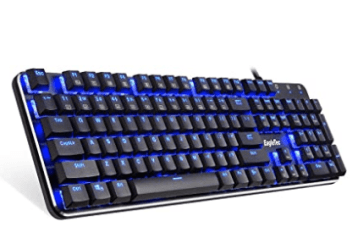 EagleTec KG050-BR LED Blue Backlit