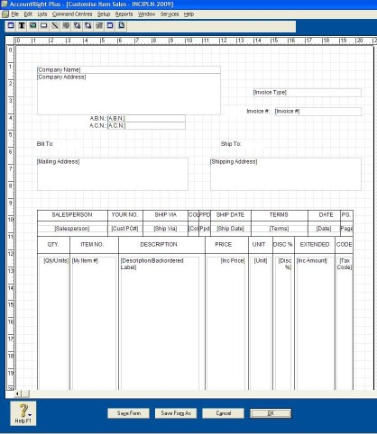 Tax Inclusive and Tax Extended Invoice Layouts