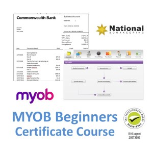 MYOB AccountRight Beginners Certificate Training Course - Industry Accredited Employer Recognised - CTO
