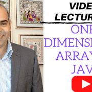 Single dimensional array in Java