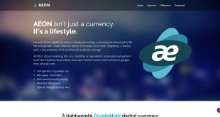 Getting Started with AEON – Creating a Wallet