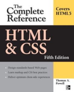 HTML and CSS Complete Reference