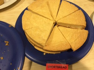 Shortbread - for the win