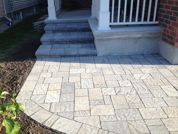 Interlock Stone Pathway