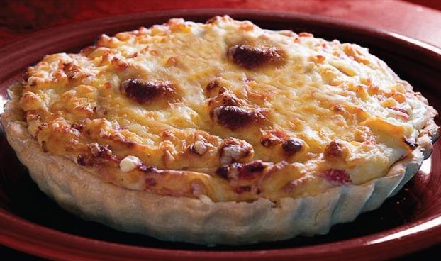 torta de bacalhau com queijo
