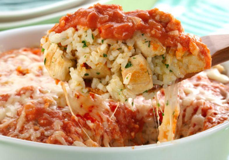 arroz de forno com frango