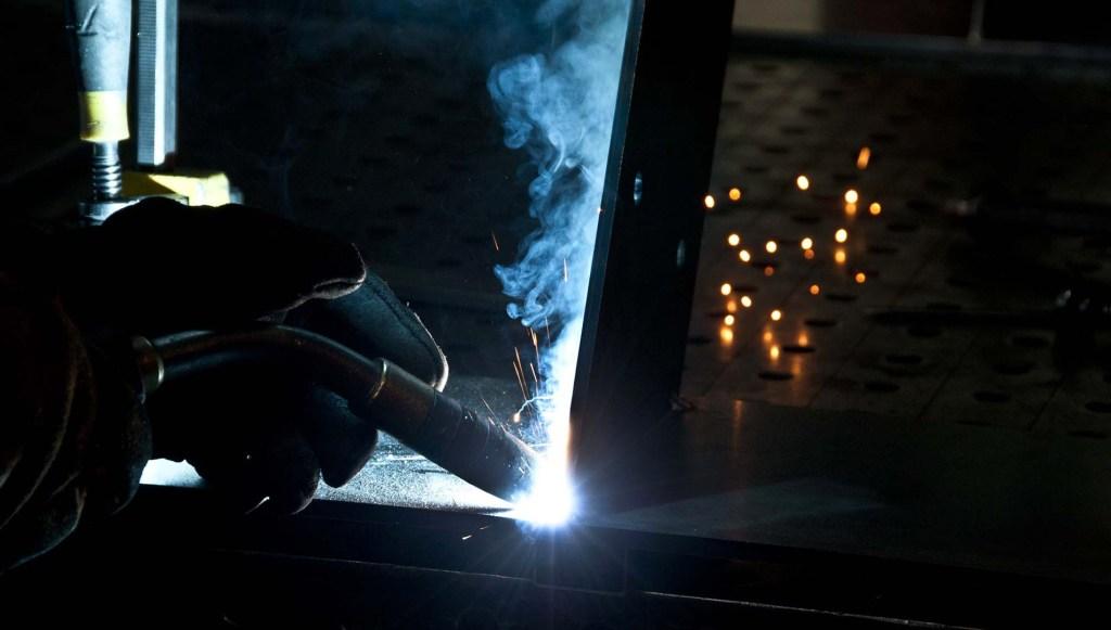 ats laser lioujas, soudure sur construction métallique